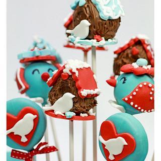 Birdie cakepops
