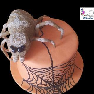 Halloween Cake - Cake by lafeeinthecake