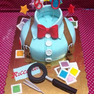 60birthday cake