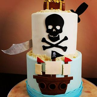 Pirate Treasure Cake!