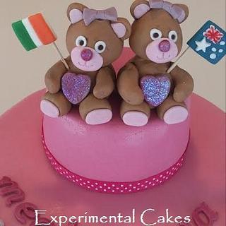Irish & Australian Teddy Bears - Cake by JulesCarter
