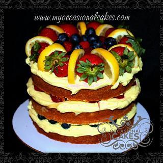 Lemon-Berry Torte