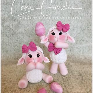 Easter Lamb caketoppers