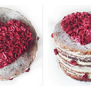 For my grandma - Cake by Jully Fondantartas