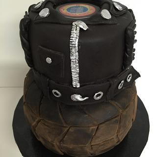 Motorcycle Club cake - Cake by Laurie