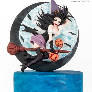 Sugar Witches - Cake by Korontini Evangelia