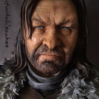 Ned Stark / Cake of Thrones Collaboration
