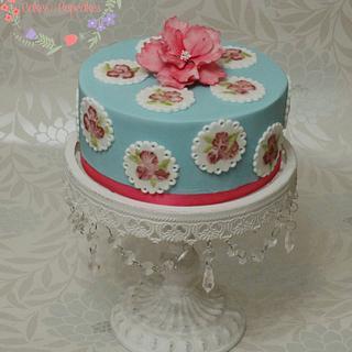 Simple Cath Kidston Style Cake