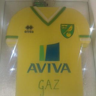 Norwich City Football shirt