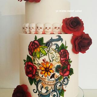 Amor a la mejicana - Cake by Marilo Latorre  yo misma sweet cakes
