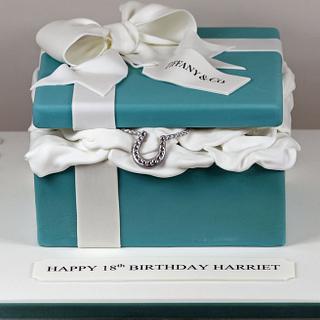 Tiffany Box with Horseshoe Necklace