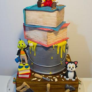 My award winning Pinocchio cake