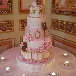 Ritz Baby Shower Cake