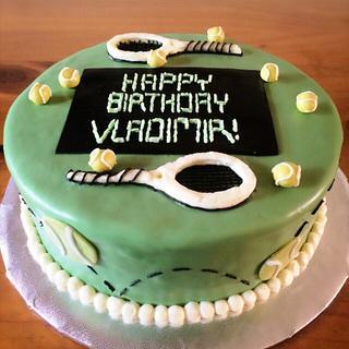 Tennis lover cake - Cake by Emsspecialtydesserts