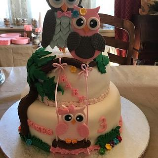 Baby Makes 3 - Cake by Julia