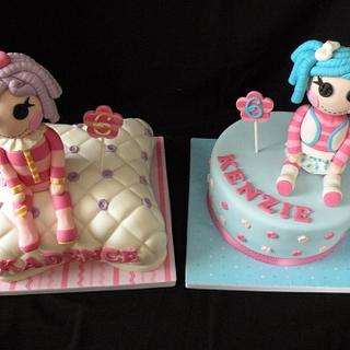 Lalaloopsy for twins!