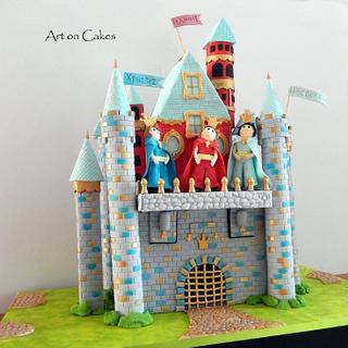 Castle cake...