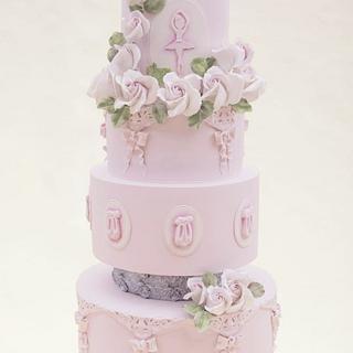 Princess ballerina cake