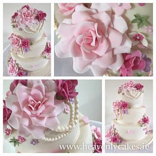 Vintage Sugar Flowers & Pearls