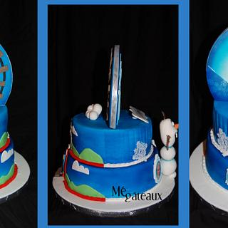 Thomas and Frozen duo - Cake by Mé Gâteaux
