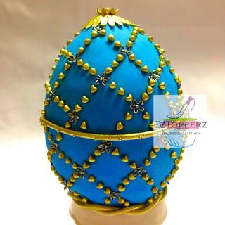 Fabergé Egg Cake