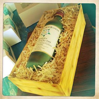 Wine box cake