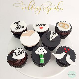 Cupcakes Matrimonio Medellín