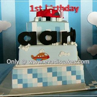 3 Tiers Cakes Transportation design