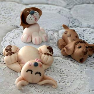 Puppies to love! - Cake by Sweet Dreams by Heba