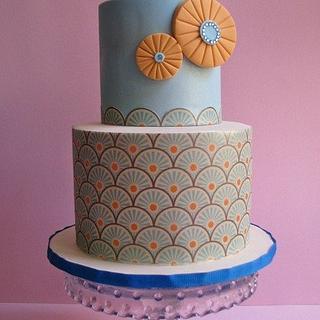 Rising Sun Cake