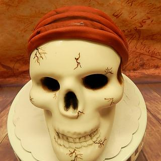 Skull cake - Cake by Chris Toert