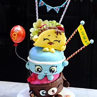 Shopkins Celebrate - Cake by Cakes! by Ying