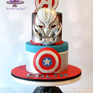 ULTRON Avengers Cake for My Son's 10th