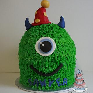 Monster Cake - Cake by Heather