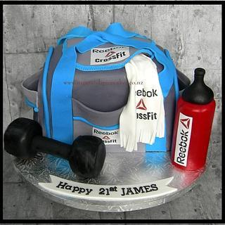 Gym Bag Cake - Cake by Mel_SugarandSpiceCakes