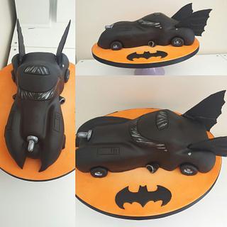 Batmobile cake xx