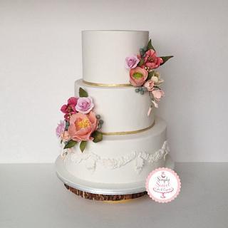 Summer Love  - Cake by SimplySweetCakes