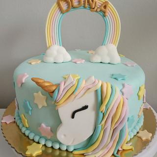 Unicorn birthday cake - Cake by LanaLand
