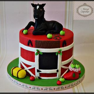 Horse Cake - Cake by nectarcupcakes