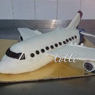 airplane - Cake by totti