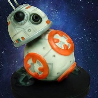 BB8 Cake Topper - Cake by Phil O'Regan