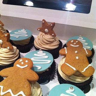 Christmas Gifts - cakes and cookies - Cake by Mummypuddleduck