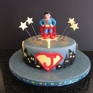 Justice League - Superman Cake
