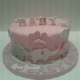 Baby shower - Cake by SweetCakeaholic1
