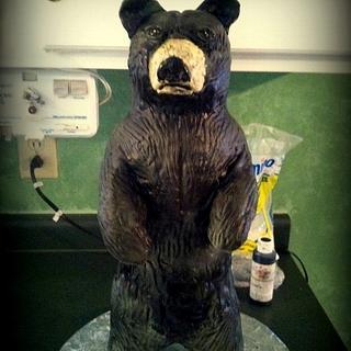Standing Bear Groom's cake