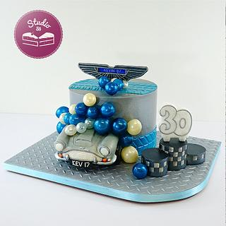 Aston Martin DB4 - Cake by Studio53