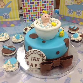 Baby Jax is here  - Cake by Maureen