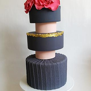 Fashion inspiration cake