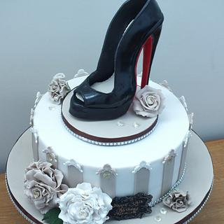 Shoe Cake No. 2 - Cake by Mother and Me Creative Cakes