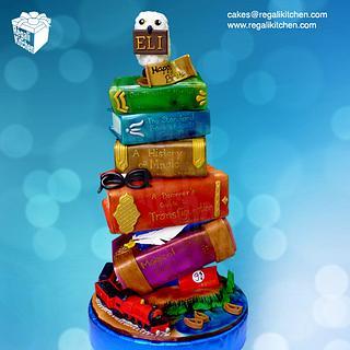 Harry Potter Topsy Turvy Birthday Cake